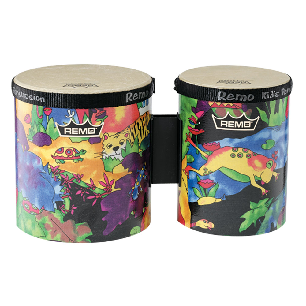 Remo Kids Percussion Bongo Set