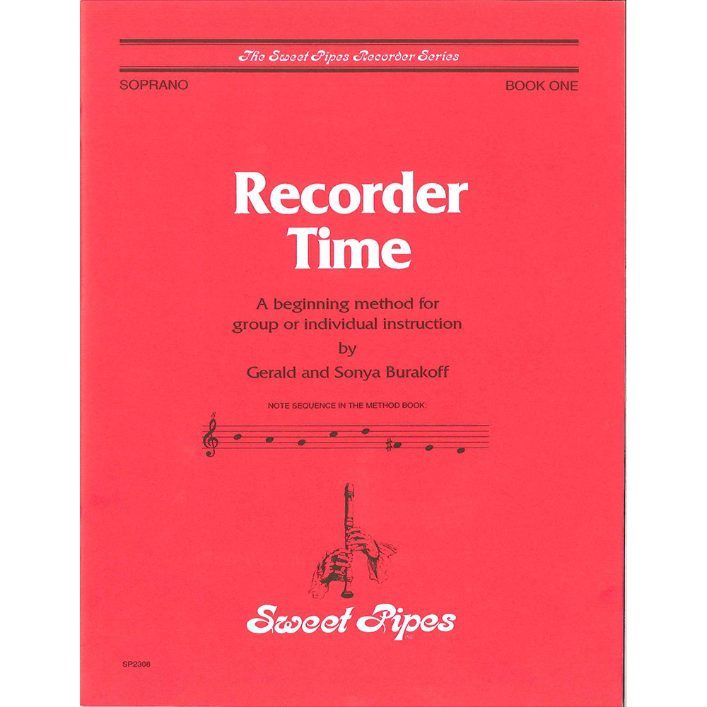Recorder Time Book 1