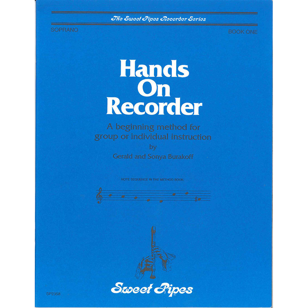 Hands On Recorder Book 1
