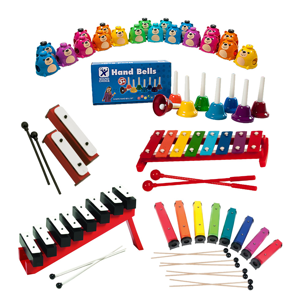Tuned Bell Sets and Glockenspiels